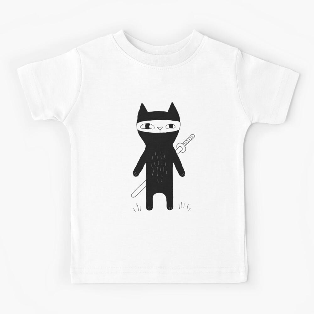 Ninja Cat Kids T-Shirt