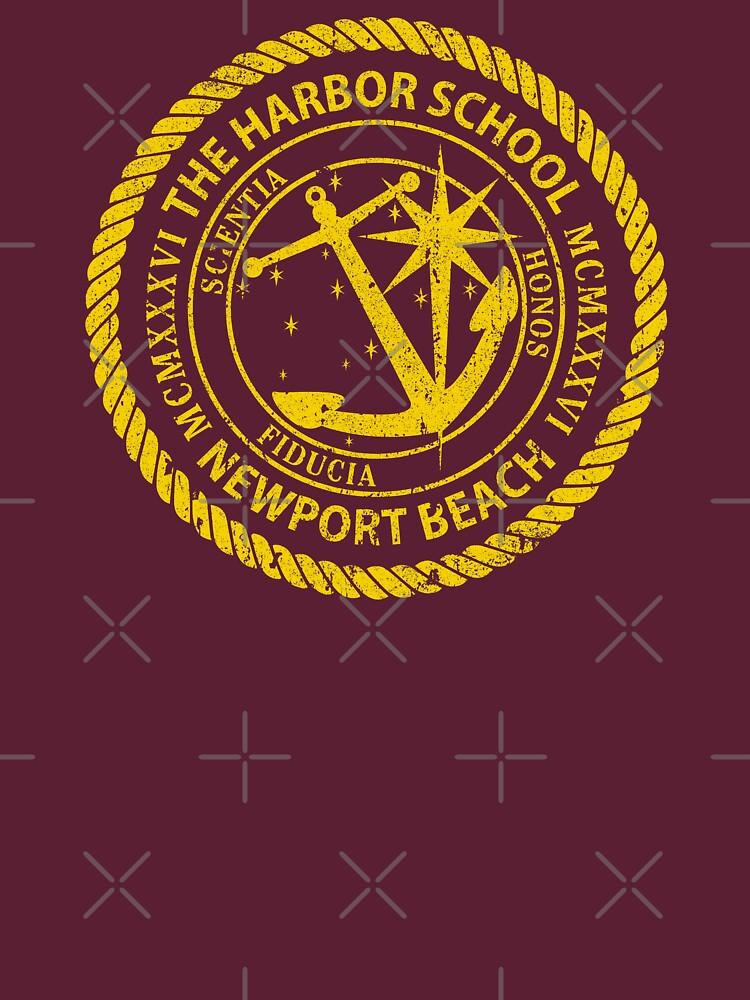 Harbor School Crest - The OC by huckblade