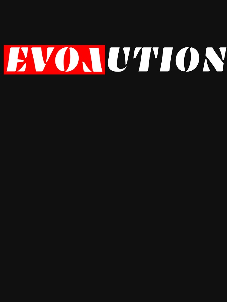 Evolution Tshirt starts with and includes 'Love' by peter2art