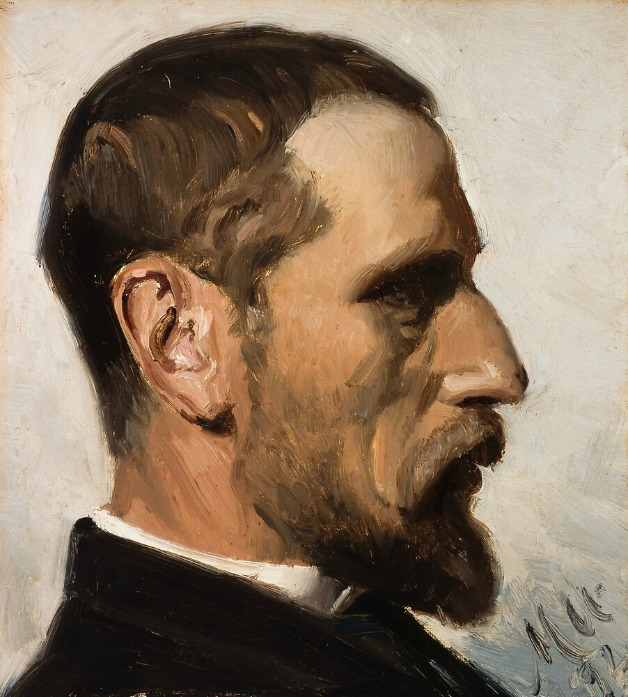 Laurits Andersen Ring by Michael Ancher by classicartcache