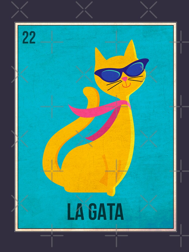 Loteria Style Card - La Gata by dk80