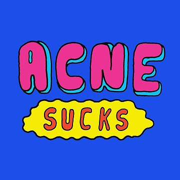 Acne Sucks by saifchowdhury