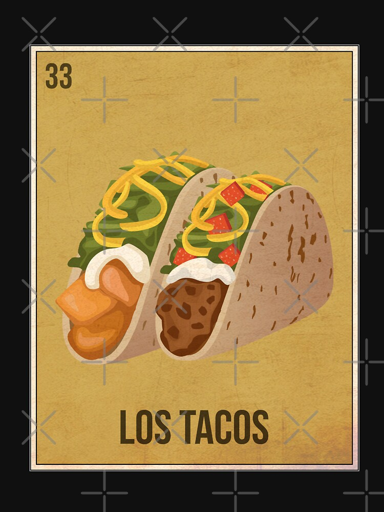 Loteria Style Card - Los Tacos by dk80