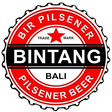 BALI SELLER CLASS BIR STAR BINTANG PILSINER by stepclark