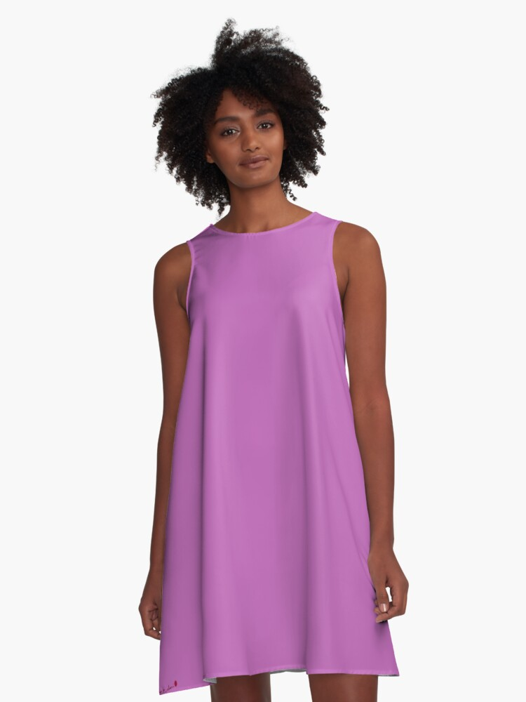 Lavender Beauty A-Line Dress Front