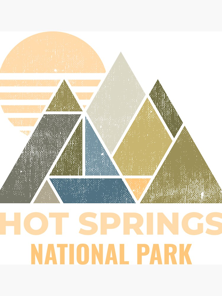 Hot Springs Arkansas Distressed by NationalParksCo