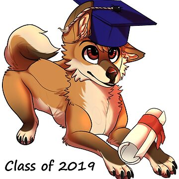 Class of 2019 Graduation Puppy by CaylinsDesigns