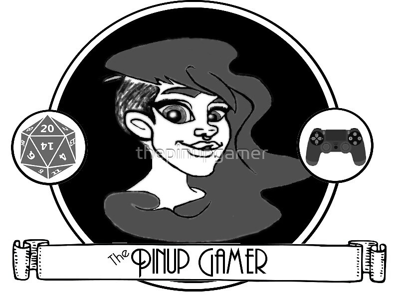 The Pinup Gamer New Logo! by thepinupgamer