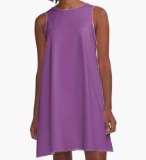 Purple Passion A-Line Dress
