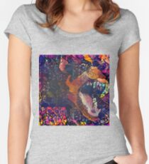 Abstract Without Warning Women's Fitted Scoop T-Shirt