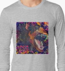 Abstract Without Warning Long Sleeve T-Shirt