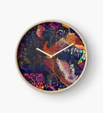 Abstract Without Warning Clock