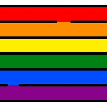 LGBT FLAG PRIDE LOVE IS LOVE GAY COMMUNITY by revolutionlove