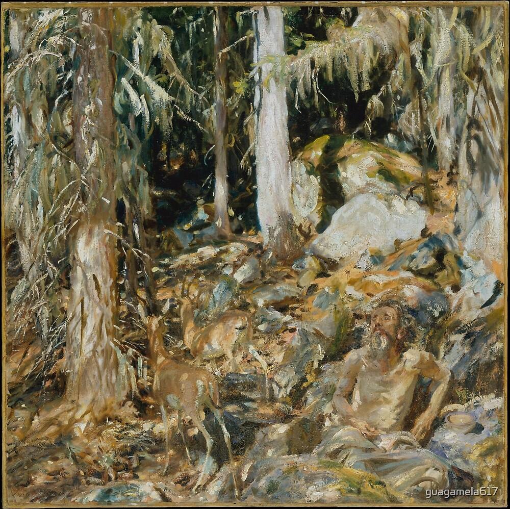 The Hermit (Il solitario) by guagamela617