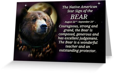 The Native American Star Sign of the Bear by Stephanie Laird