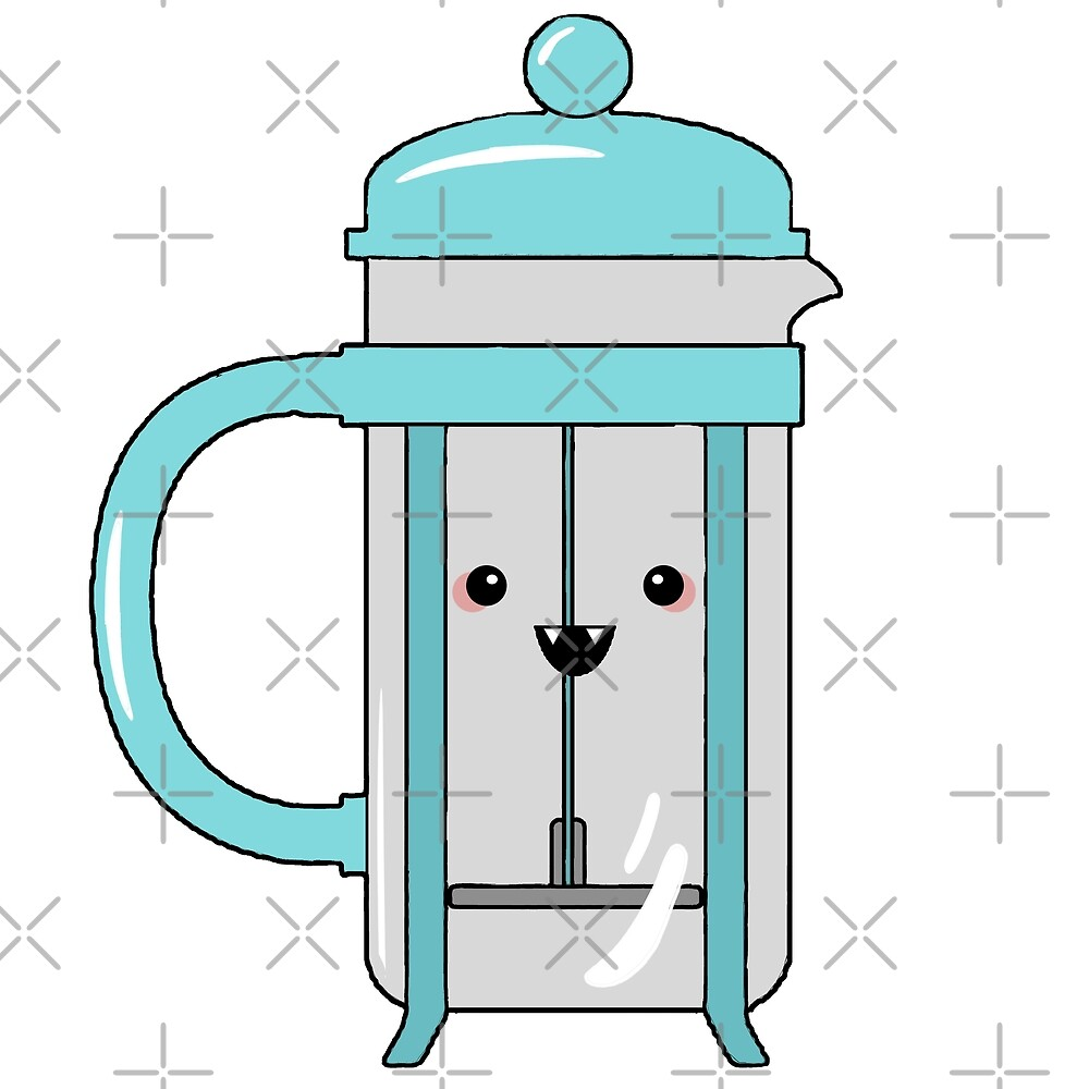 Brewing Methods - Chibified Coffee Press by Sapphira Artra