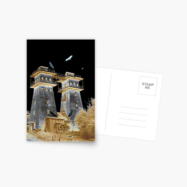 Layered Towers Postcard