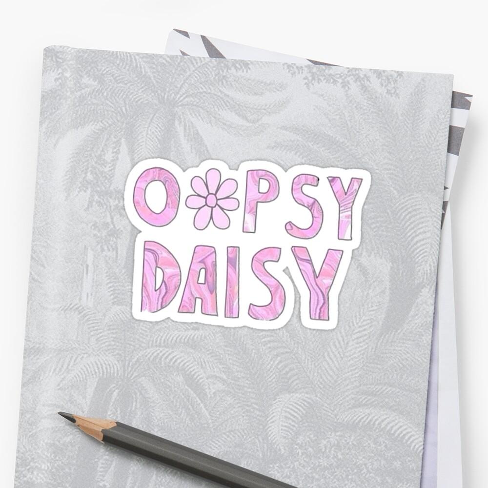 Oopsy Daisy by GwynethEmily