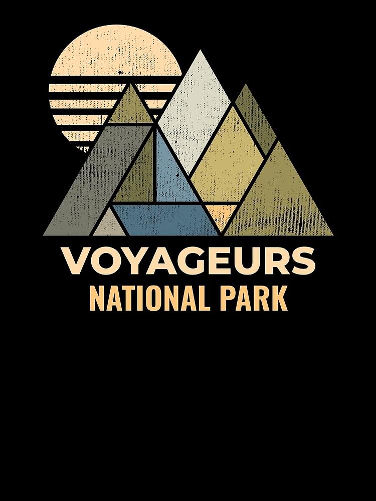 Voyageurs Minnesota Distressed by NationalParksCo