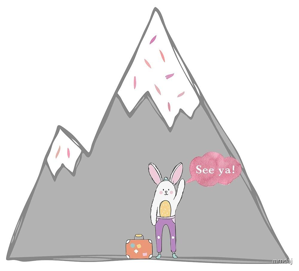 Adventure Bunny by mrndaj