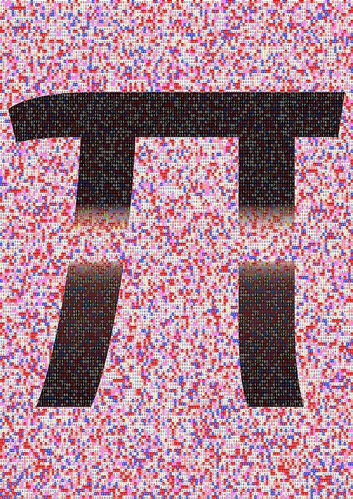 Digits of Pi by OddDesign