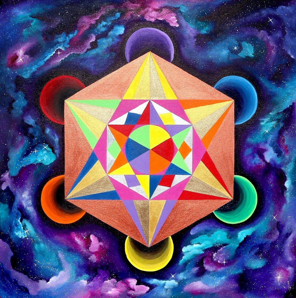 Metatron's Cube by CruxMagic