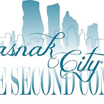 Sasnak City 2nd Coming Drawstring Bag by SASNAK1