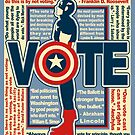 Cap wants you to vote by clockworkmonkey