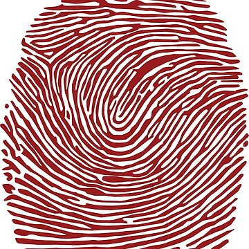 Fingerprint T-Shirt by jaser018