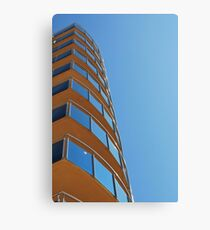Blue Glass, Blue Sky Canvas Print