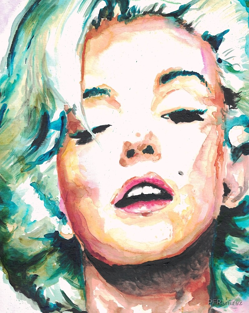 Marilyn Monroe  by PFRamirez