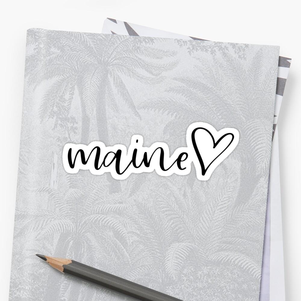 Maine by Caro Owens  Designs