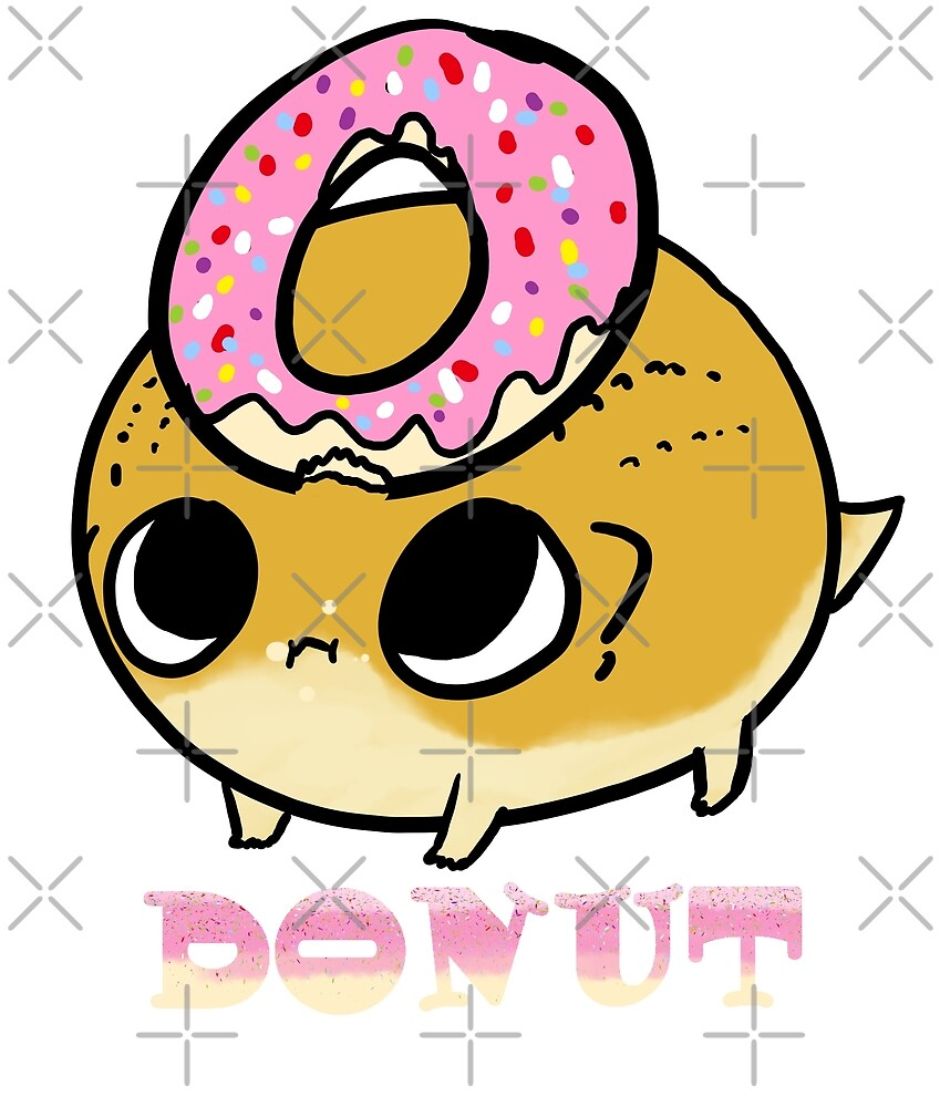 donuts chubby lizard :D  by TheHALOWORKSHOP