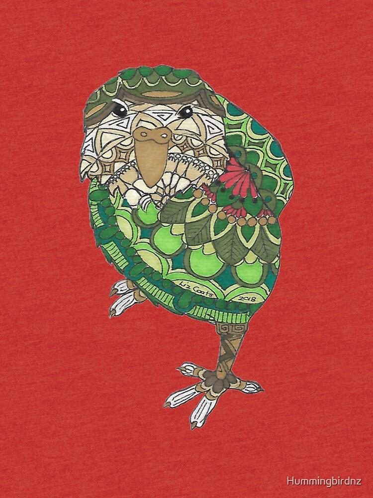 Mandala Kakapo  by Hummingbirdnz