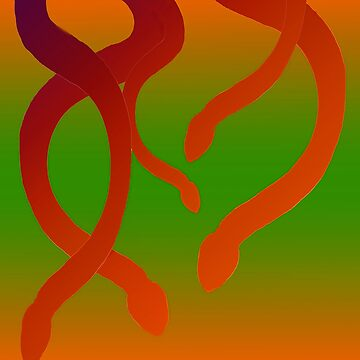 Dangling Snakes by FroghavenFarm