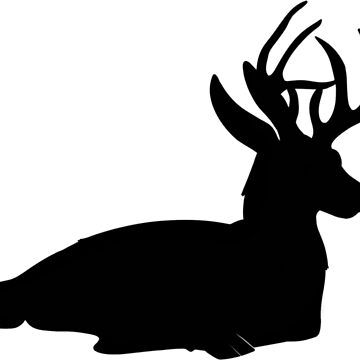 Buck Silhouette by CaylinsDesigns