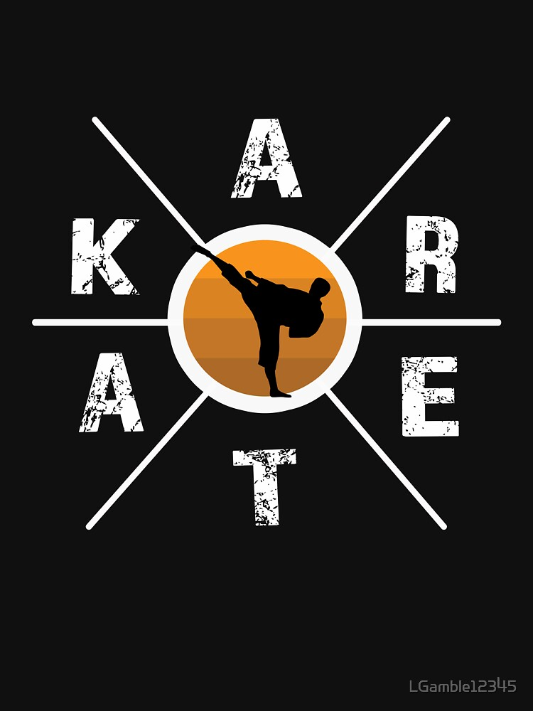 Awesome Karate hex cross design by LGamble12345