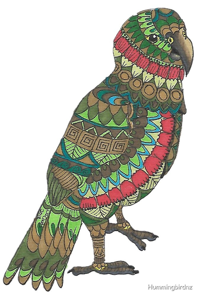Mandala Kea  by Hummingbirdnz