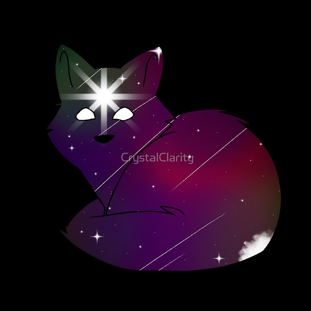 Cosmic Fox by CrystalClarity