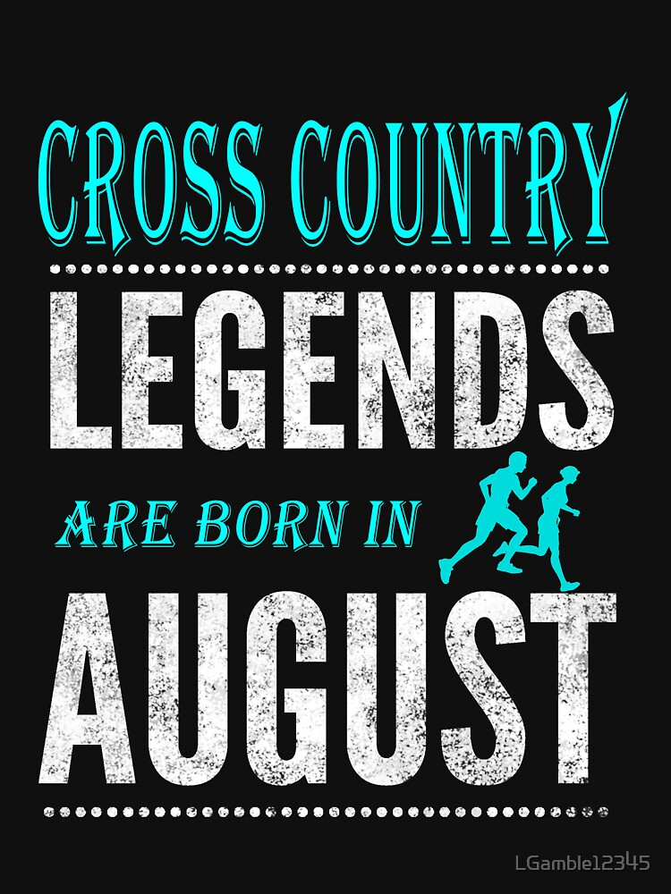 Cross Country Legends are born in  August by LGamble12345