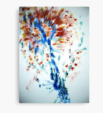Spiral Spray Canvas Print