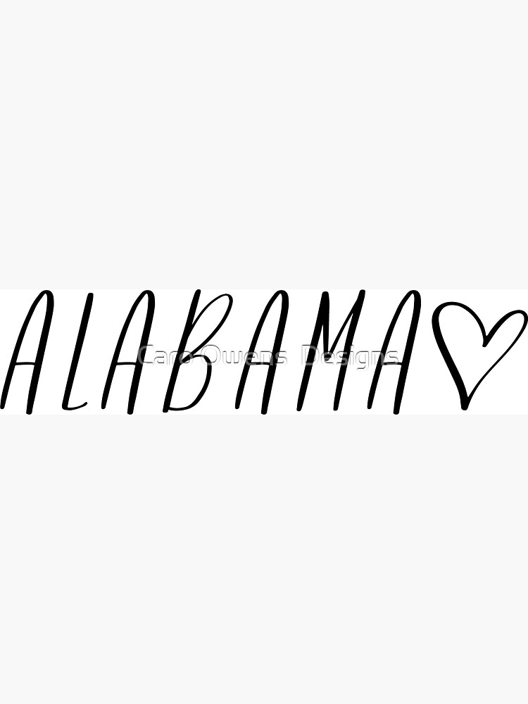 Alabama by caroowens