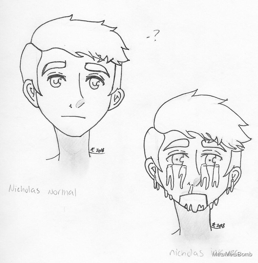 InkGameplays Design Sketches by MewMewBomb