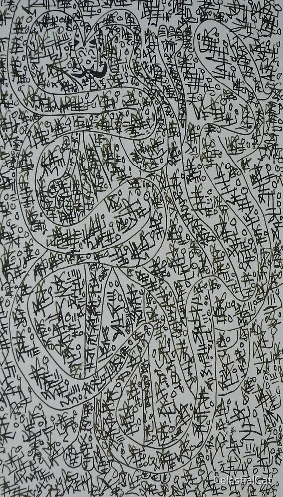 Doodle 7-9-18 by CelestialCat