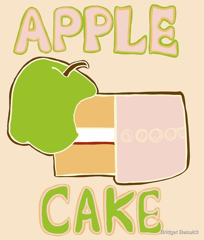 Apple Cake by Bridget Beswick