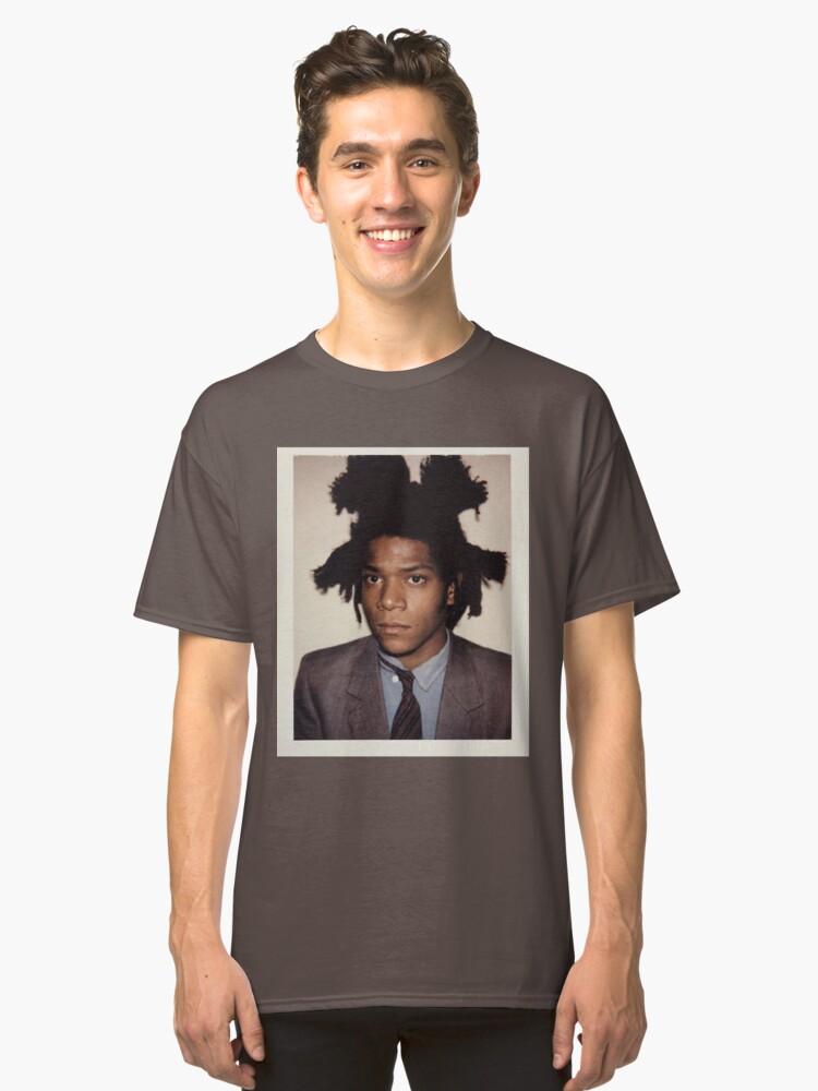 BASQUIAT PORTRAIT Classic T-Shirt Front
