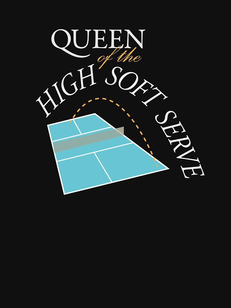 Pickleball Queen of the High Soft Serve by CzebraStudios