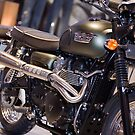 Triumph scrambler 900 by Nigel Lynch