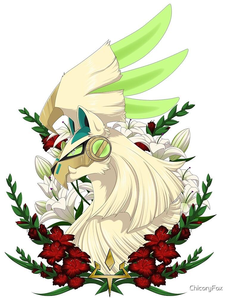 Guardian of Paradise- *shiny*bug type by ChicoryFox