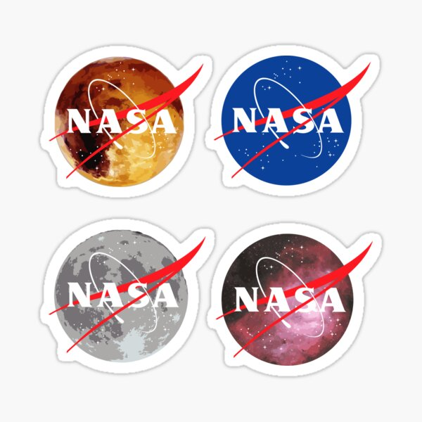 NASA Sticker Set Sticker